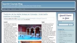 Spanish courses blog