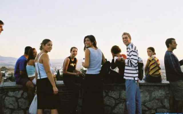 Students in Mirador San Nicolás