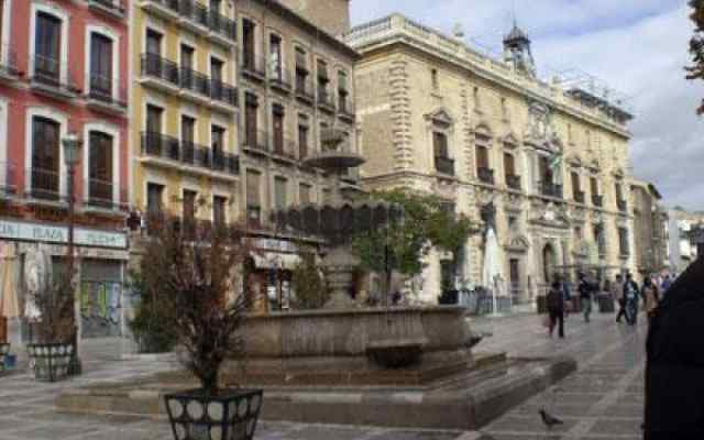 Plaza Nueva, in the centre of Granada